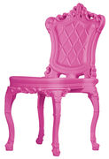 Chaise Princess of Love /Polyéthylène - Design of Love by Slide rose en matière plastique