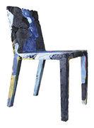 Chaise Rememberme / En jeans recyclés - Casamania multicolore en matière plastique