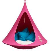 Chaise suspendu / Tente - Ø 150 cm - 1 personne - Cacoon fuchsia en tissu