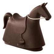 Cheval à bascule Rocky - Magis Collection Me Too marron en matière plastique