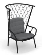 Coussin assise & dossier / Pour fauteuils bas Nef - Emu jeans en tissu