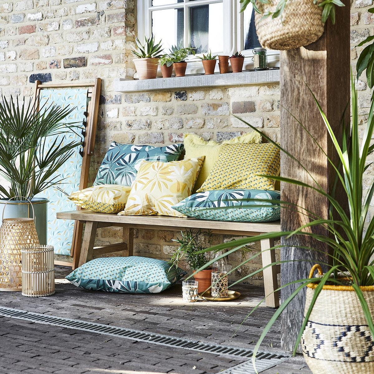 Coussin outdoor Bergamotte X La Redoute Interieurs