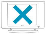 Décoration No TV Today / Croix ventouse - Domestic turquoise en matière plastique
