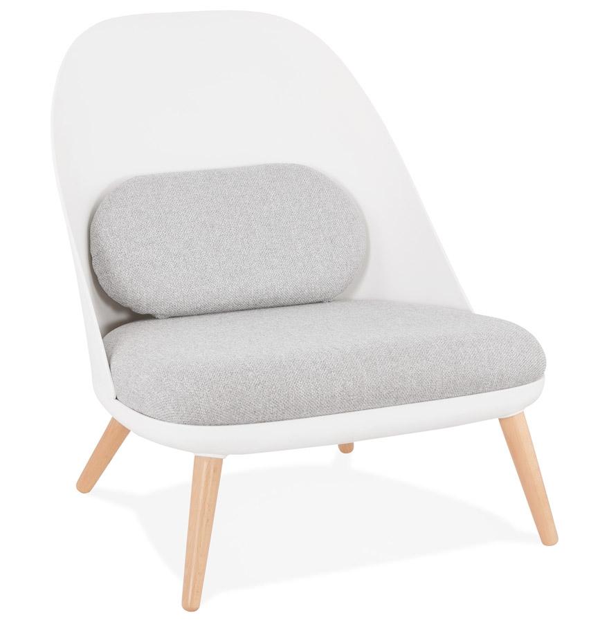 Fauteuil lounge design 'TICOS' style scandinave