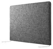 Housse String Works acoustique pour écran - String Furniture gris chiné en tissu