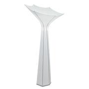 Lampadaire Belle de Jour / Large - LED / 110 x 110 x H 217 cm / Tissu - Foscarini blanc en tissu