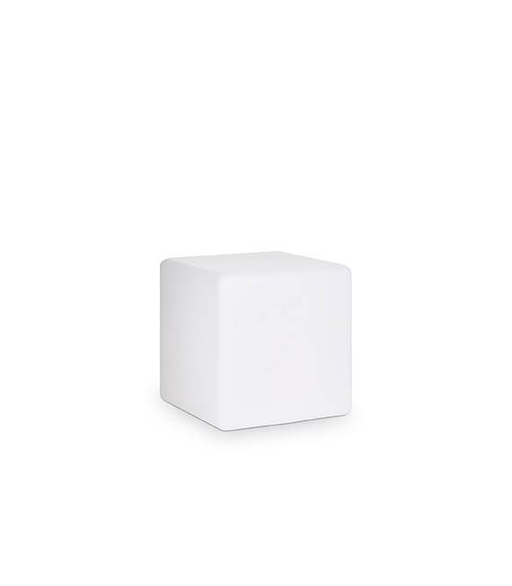 Lampadaire Blanc LUNA 1 ampoule Hauteur 29 Cm