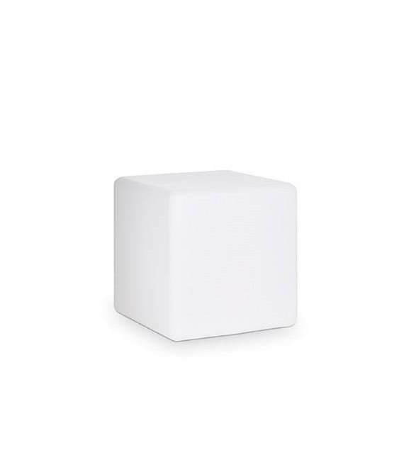 Lampadaire Blanc LUNA 1 ampoule Largeur 29 Cm