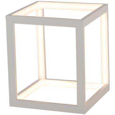 Lampe CUBE coloris blanc