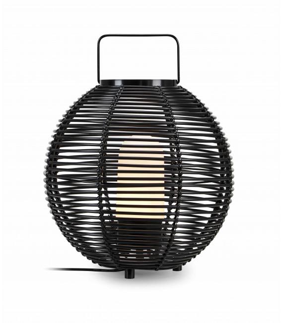 Lampe de table de jardin SAGE Noire 1 ampoule