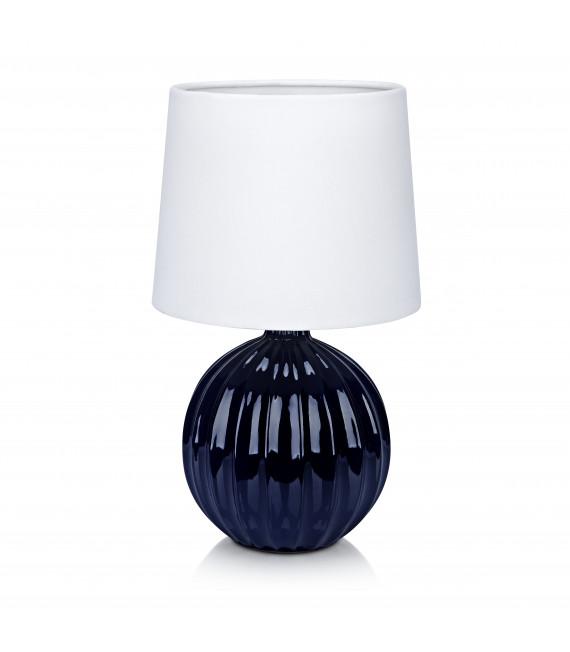 Lampe de table MELANIE bleue 1 ampoule