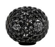 Lampe de table Planet / LED - H 28 cm - Kartell gris fumé en matière plastique