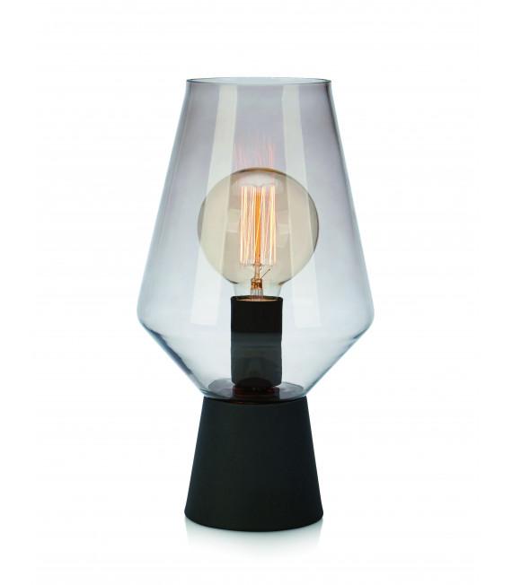Lampe de table RETRO Noire 1 ampoule