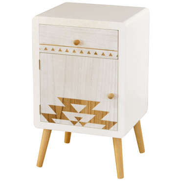Mini commode 1 tiroir 66 cm BOHEME