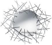 Miroir mural Blow up / L 86 x H 74 cm - Alessi acier en métal