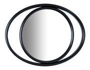 Miroir mural Eyeshine / 36 x 28 cm - Bois cintré - Wiener GTV Design noir en bois