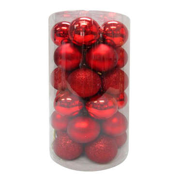 Pack 30 boules PACK 30 BOULES ROUGE