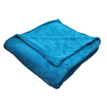Plaid 140X 200CM bleu LILOU