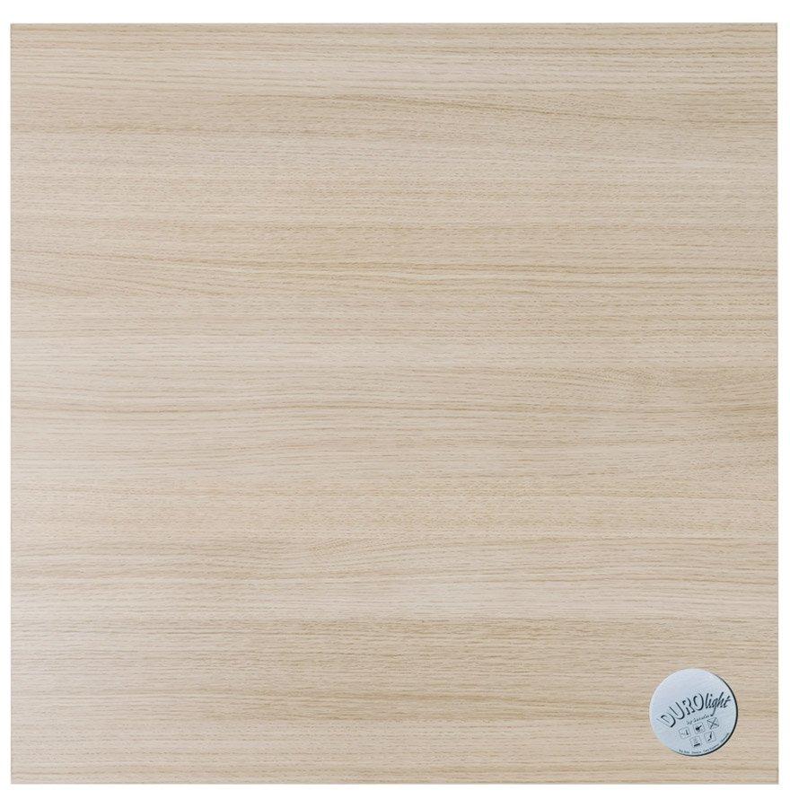 Plateau de table 'NATO' carré 60x60 cm en bois finition naturelle