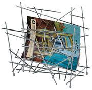 Porte-revues Blow up - Alessi acier en métal