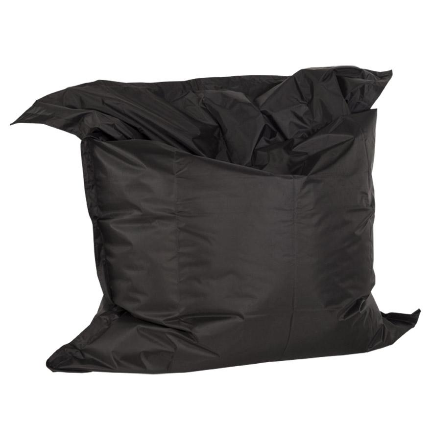 Pouf géant 'LAZY' noir 180x140cm