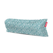 Pouf gonflable Lamzac 3.0 / L 200 cm - Polyester - Fatboy Pouf gonflé : L 200 x larg. 90 cm x H 50 cm - Pouf plié : L 35 x Ø 18 cm bleu en tissu