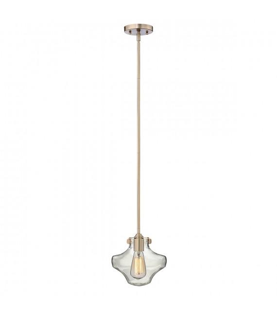 Suspension Congress, couleur caramel brossé, 1 ampoule,, 22 cm