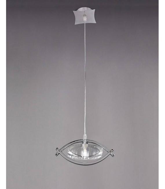 Suspension Kromo 1 Ampoule G9, chrome poli