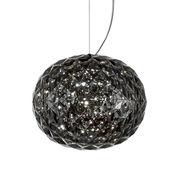 Suspension Planet / LED - Ø 33 cm - Kartell gris fumé en matière plastique