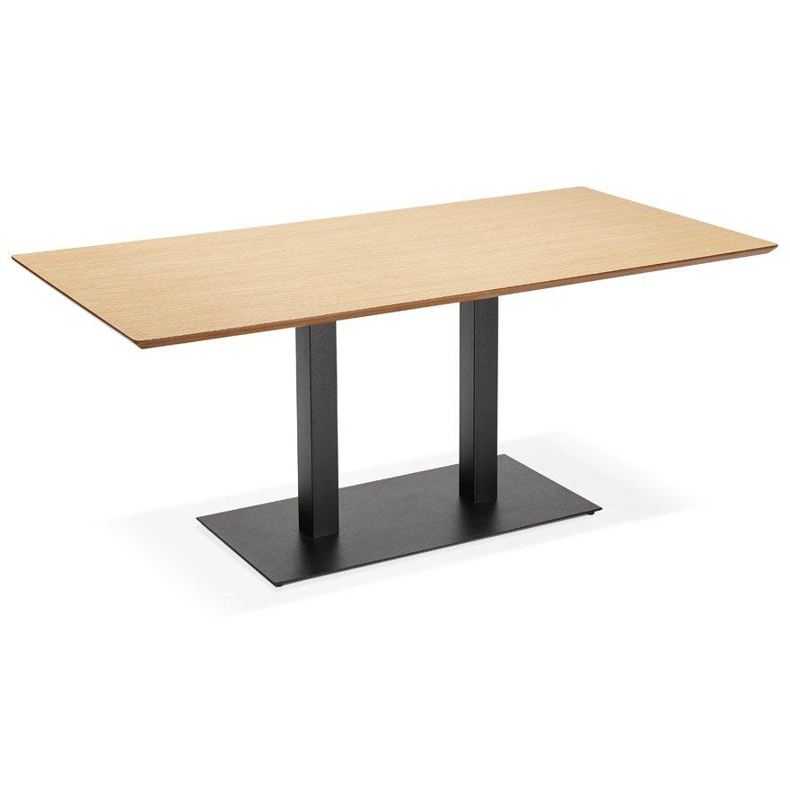 Table / bureau design 'ZUMBA' en bois finition naturelle - 180x90 cm