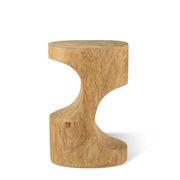 Table d'appoint Double Arch / Table d'appoint - Bois sculpté main - Pols Potten bois naturel en bois
