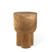 Table d'appoint Pile / Table d'appoint - Bois sculpté main - Pols Potten bois naturel en bois