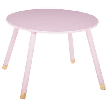 Table enfant AUDREY coloris rose