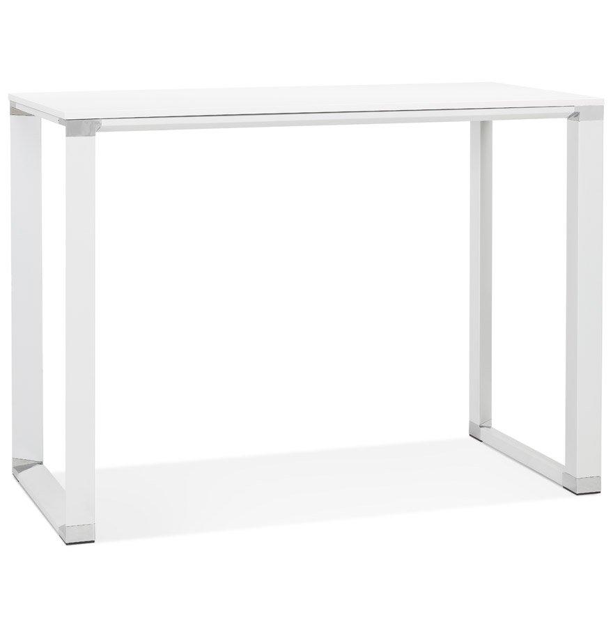 Table haute / bureau haut 'XLINE HIGH TABLE' en bois blanc - 140x70 cm