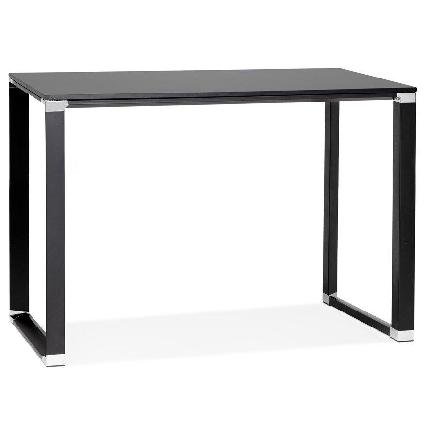 Table haute / bureau haut 'XLINE HIGH TABLE' en bois noir - 140x70 cm