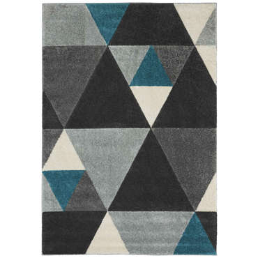 Tapis 160x230 cm BEST coloris gris