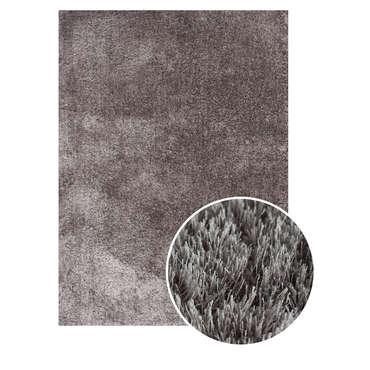 Tapis 160x230 cm DENVER coloris gris
