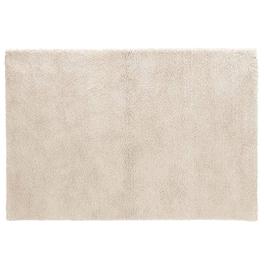 Tapis de salon shaggy 'TISSO' beige - 160x230 cm