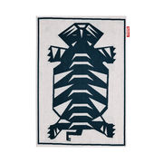 Tapis d'extérieur Carpretty Nottazebroh / 160 x 230 cm - Polypropylène tissé - Fatboy bleu,beige en matière plastique