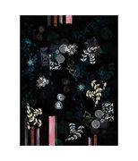 Tapis Le Temple Jais / 200 x 300 cm - Moooi Carpets noir,motifs multicolores en tissu