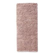 Tapis Shaggy / 80 x 200 cm - Poils longs - Hay rose en tissu