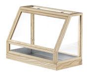 Terrarium Greenhouse Mini / L 48 x H 34 cm - Design House Stockholm bois naturel en bois
