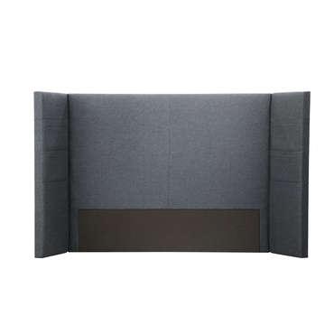Tête de lit 201 cm YING coloris gris