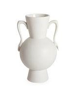 Vase Eve Urn / Anses en forme de mains - Jonathan Adler blanc en céramique