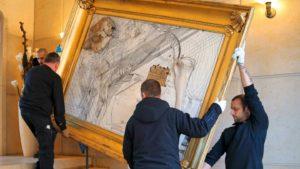 Transporter une œuvre d'art de façon sécurisée