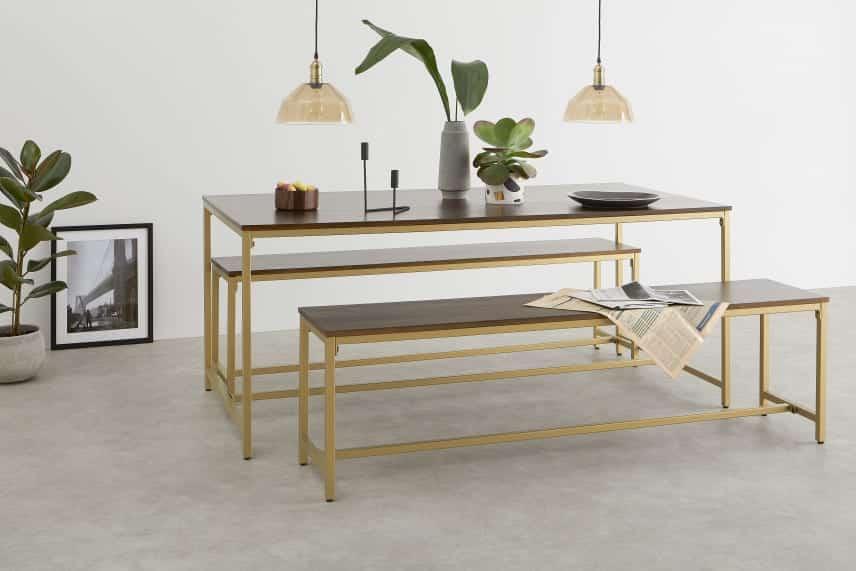 Découverte de 5 tables de salle à manger design chez Made.com